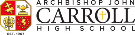 archbishop carroll logo